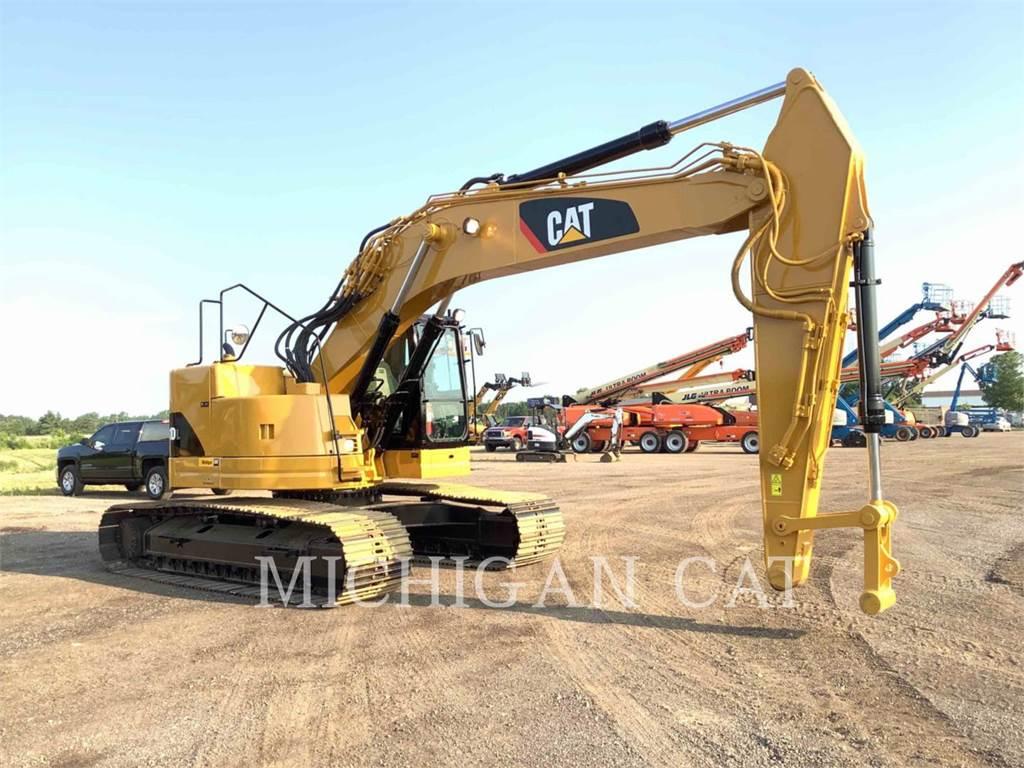 Caterpillar 321DLCR PM, Excavadoras de cadenas, Construcción