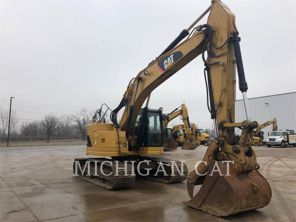Caterpillar 321DLCR PTQ, Crawler Excavators, Construction