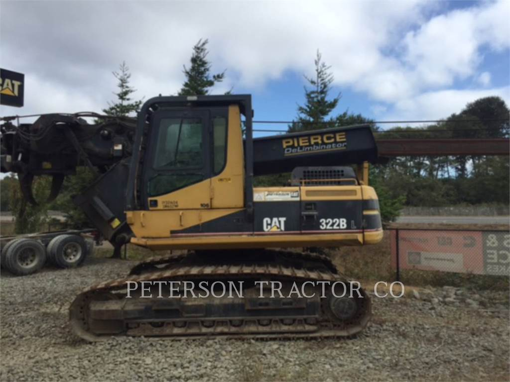 Caterpillar 322BL, Crawler Excavators, Construction
