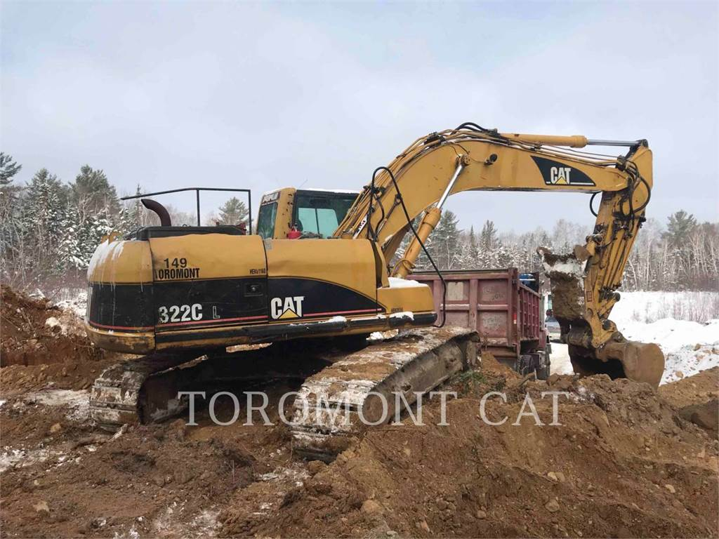 Caterpillar 322CL, Crawler Excavators, Construction