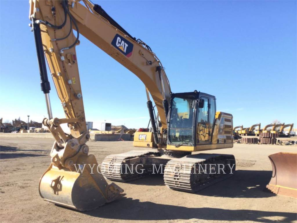 Caterpillar 323, Raupenbagger, Bau-Und Bergbauausrüstung