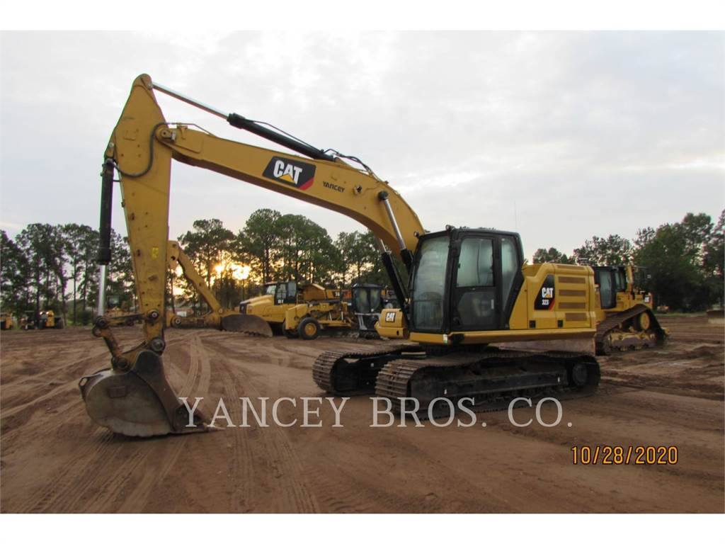 Caterpillar 323, Crawler Excavators, Construction