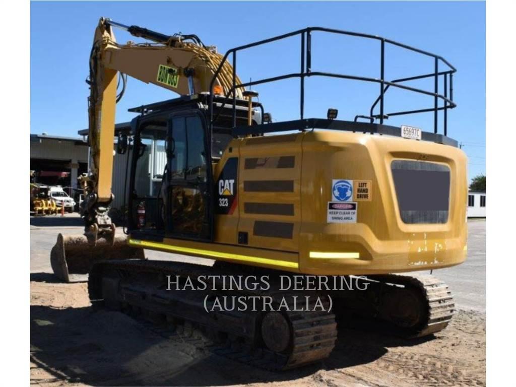 Caterpillar 323, Crawler Excavators, Construction