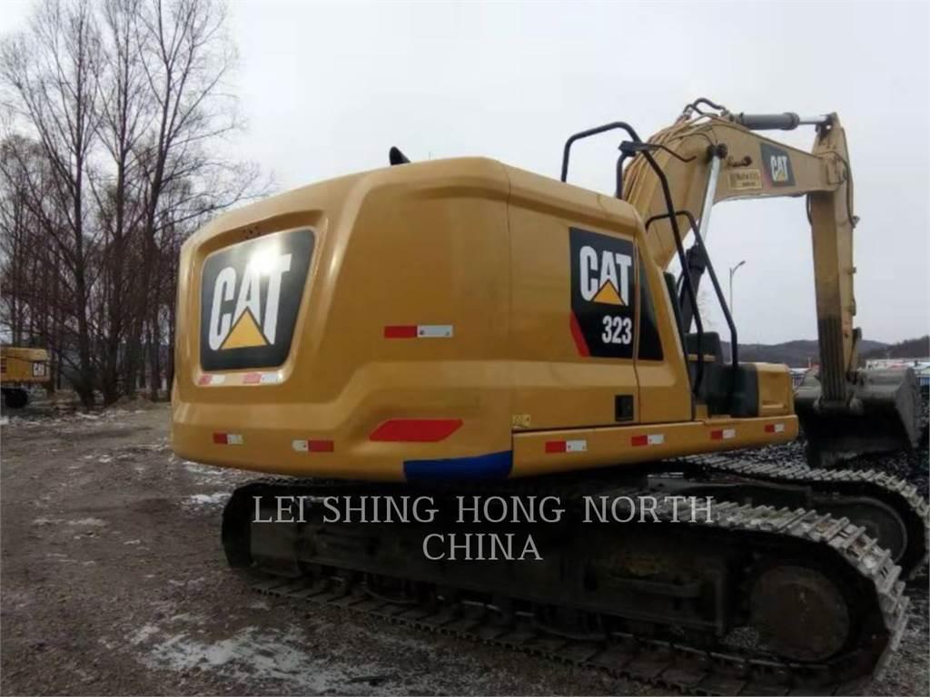 Caterpillar 323-07, Raupenbagger, Bau-Und Bergbauausrüstung