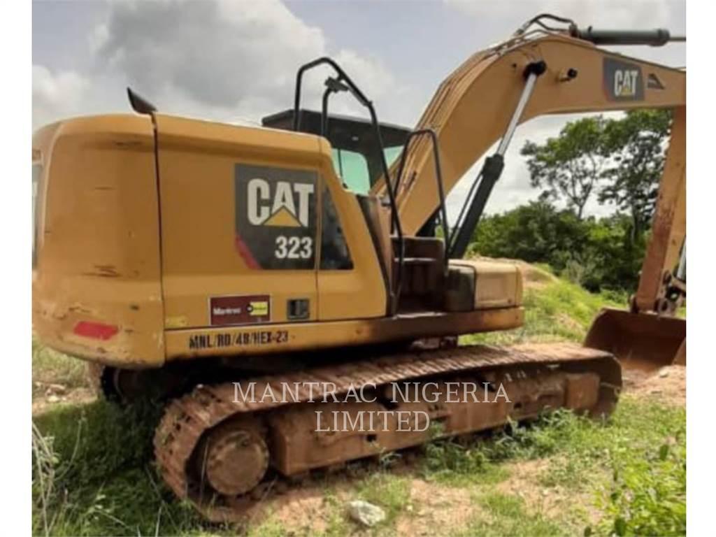 Caterpillar 323-07, Crawler Excavators, Construction