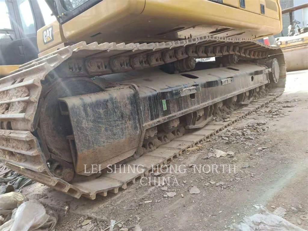 Caterpillar 323-07, Excavadoras de cadenas, Construcción
