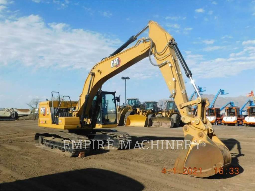 Caterpillar 323-07 P、履带挖掘机、建筑设备