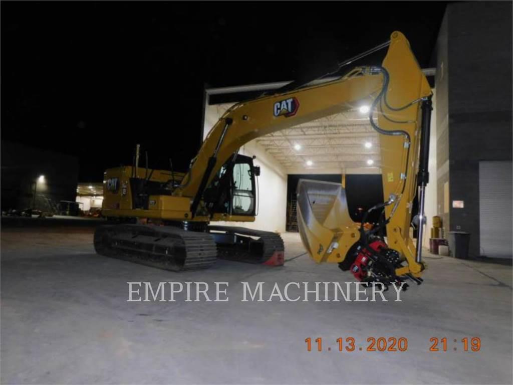 Caterpillar 323-07ROTO, Crawler Excavators, Construction