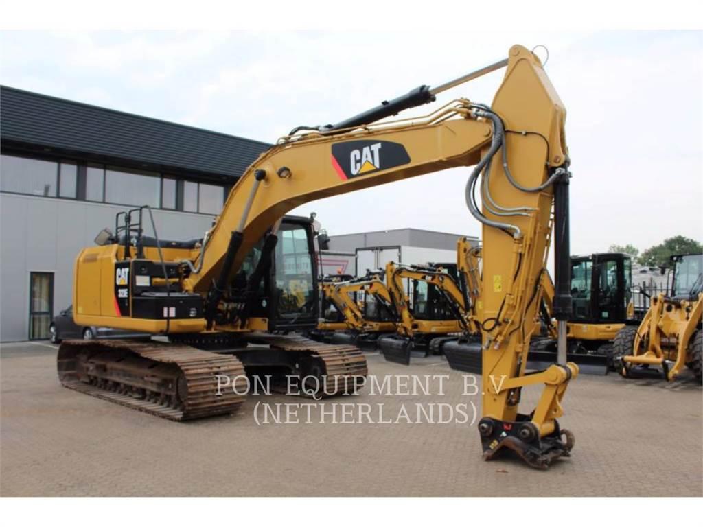 Caterpillar 323 EL, Pelle sur chenilles, Équipement De Construction