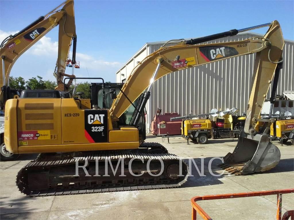 Caterpillar 323 F L, Raupenbagger, Bau-Und Bergbauausrüstung