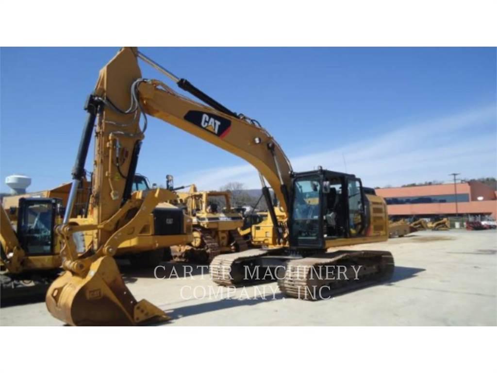 Caterpillar 323 F L, Excavadoras de cadenas, Construcción