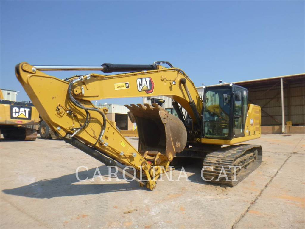 Caterpillar 323 QC, Crawler Excavators, Construction