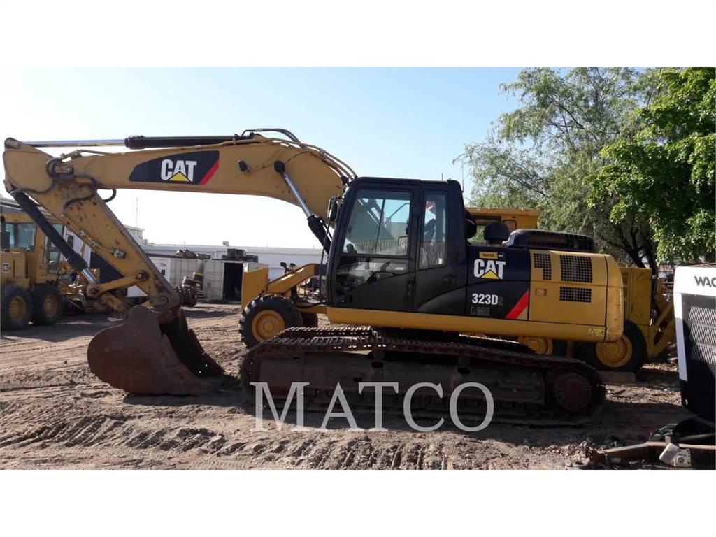 Caterpillar 323D2L, Koparki gąsienicowe, Sprzęt budowlany