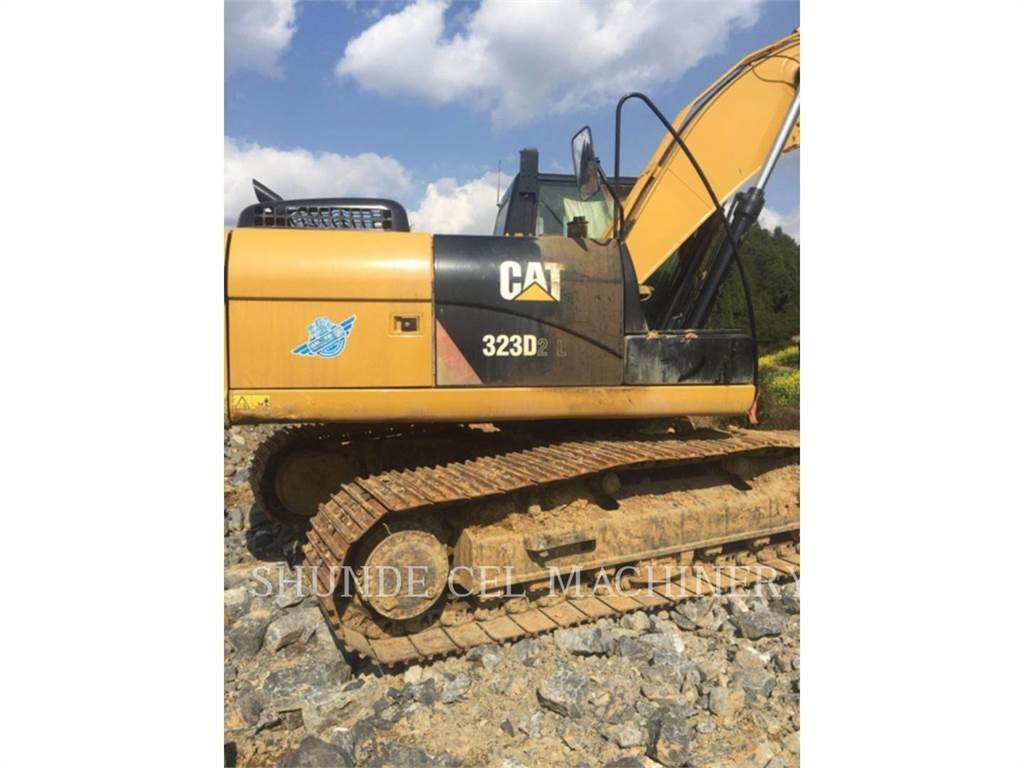 Caterpillar 323D2L, Escavatori cingolati, Attrezzature Da Costruzione