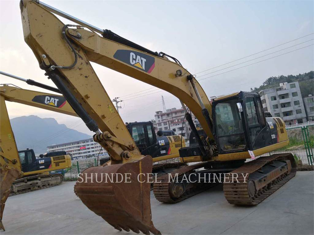 Caterpillar 323D2L, Raupenbagger, Bau-Und Bergbauausrüstung