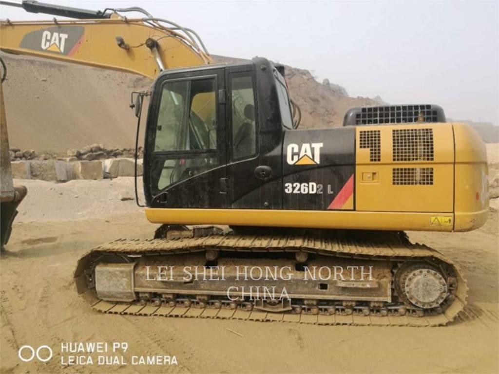 Caterpillar 323D2L, Rupsgraafmachines, Bouw