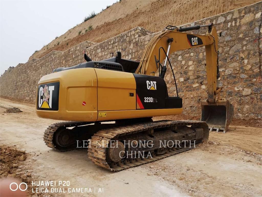 Caterpillar 323D2L, Crawler Excavators, Construction