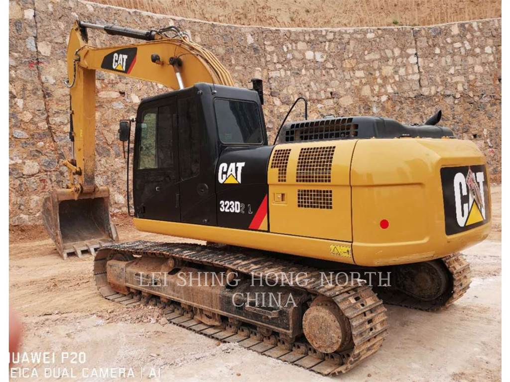 Caterpillar 323D2L, Crawler Excavators, Construction