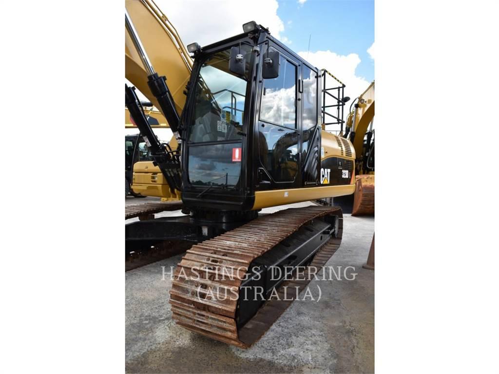 Caterpillar 323DL, Pelle sur chenilles, Équipement De Construction