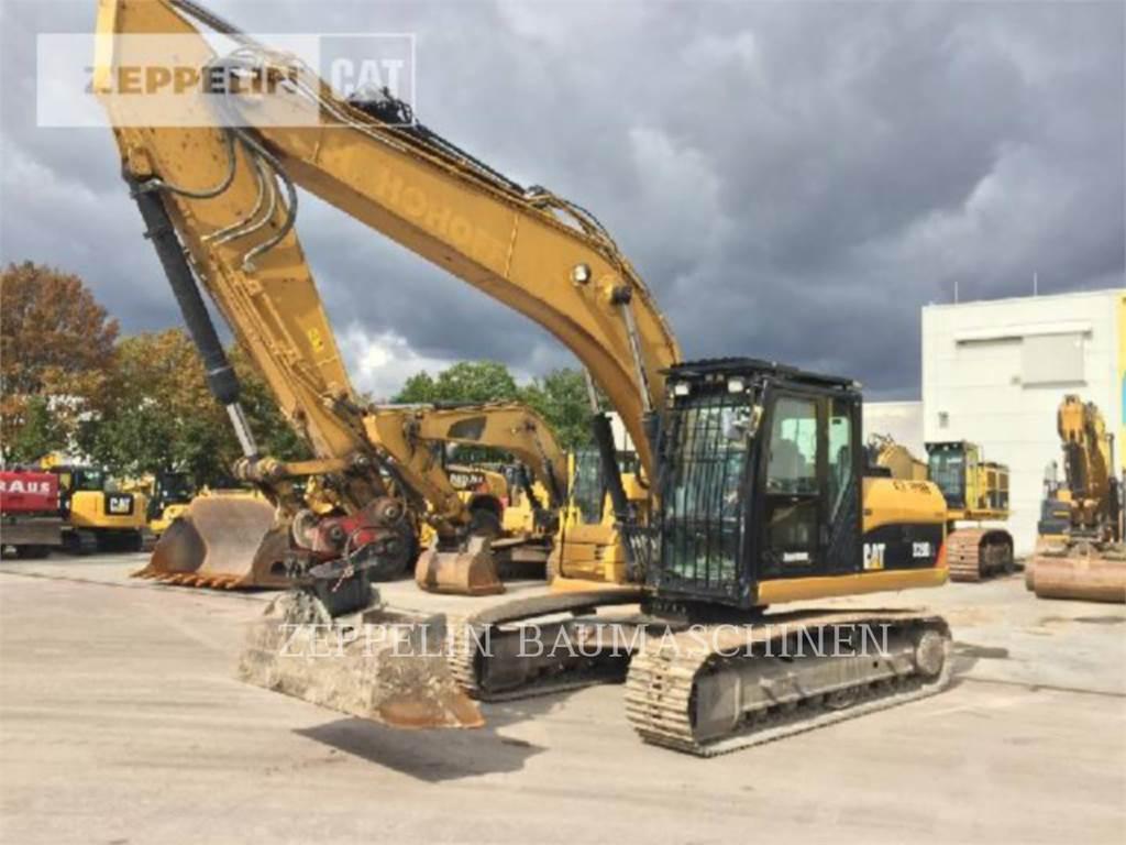 Caterpillar 323DL、履带挖掘机、建筑设备