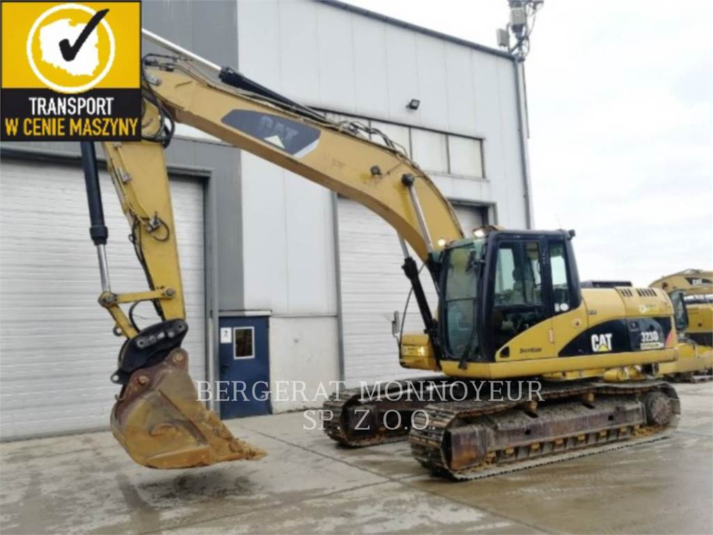 Caterpillar 323DL, Crawler Excavators, Construction