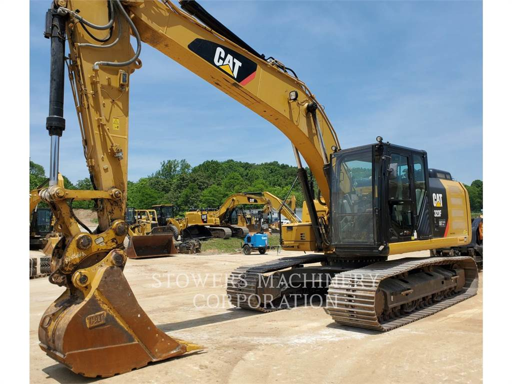 Caterpillar 323F, Crawler Excavators, Construction