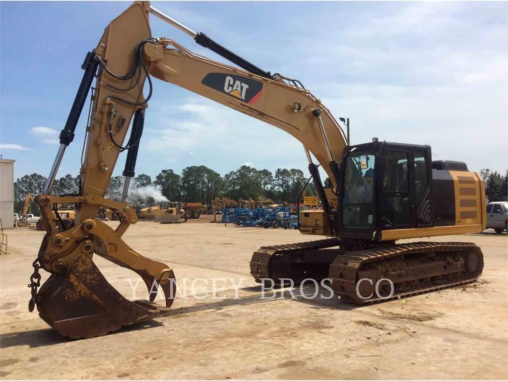 Caterpillar 323F, Excavadoras de cadenas, Construcción
