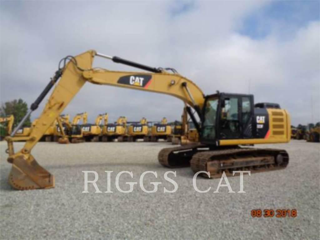 Caterpillar 323F 9, Crawler Excavators, Construction