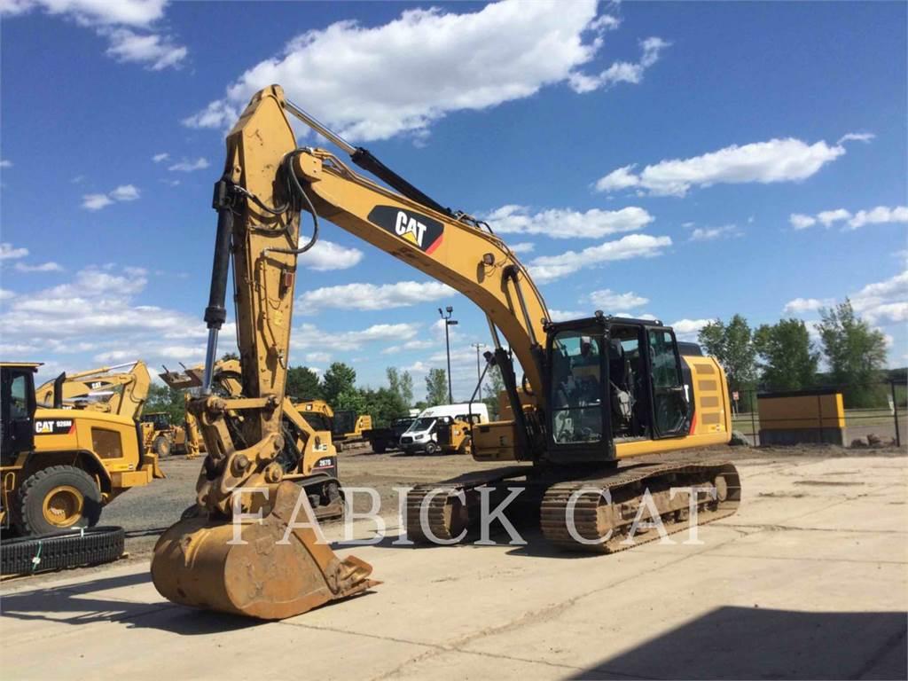 Caterpillar 323F HT, Crawler Excavators, Construction