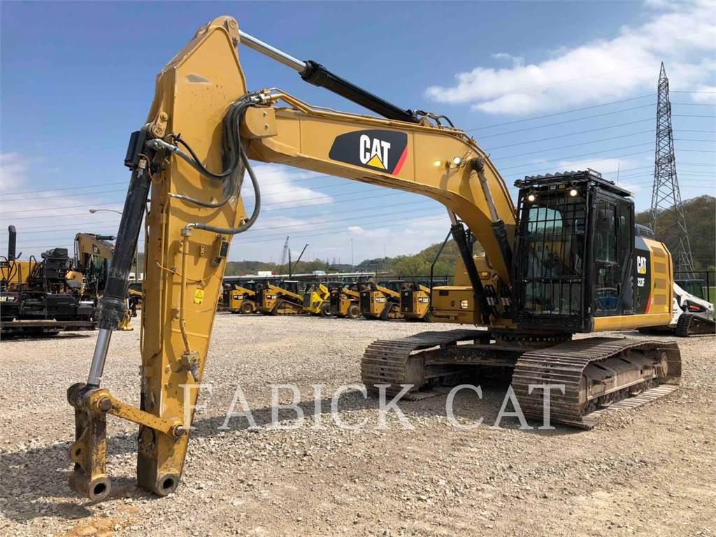 Caterpillar 323F HT, Excavadoras de cadenas, Construcción