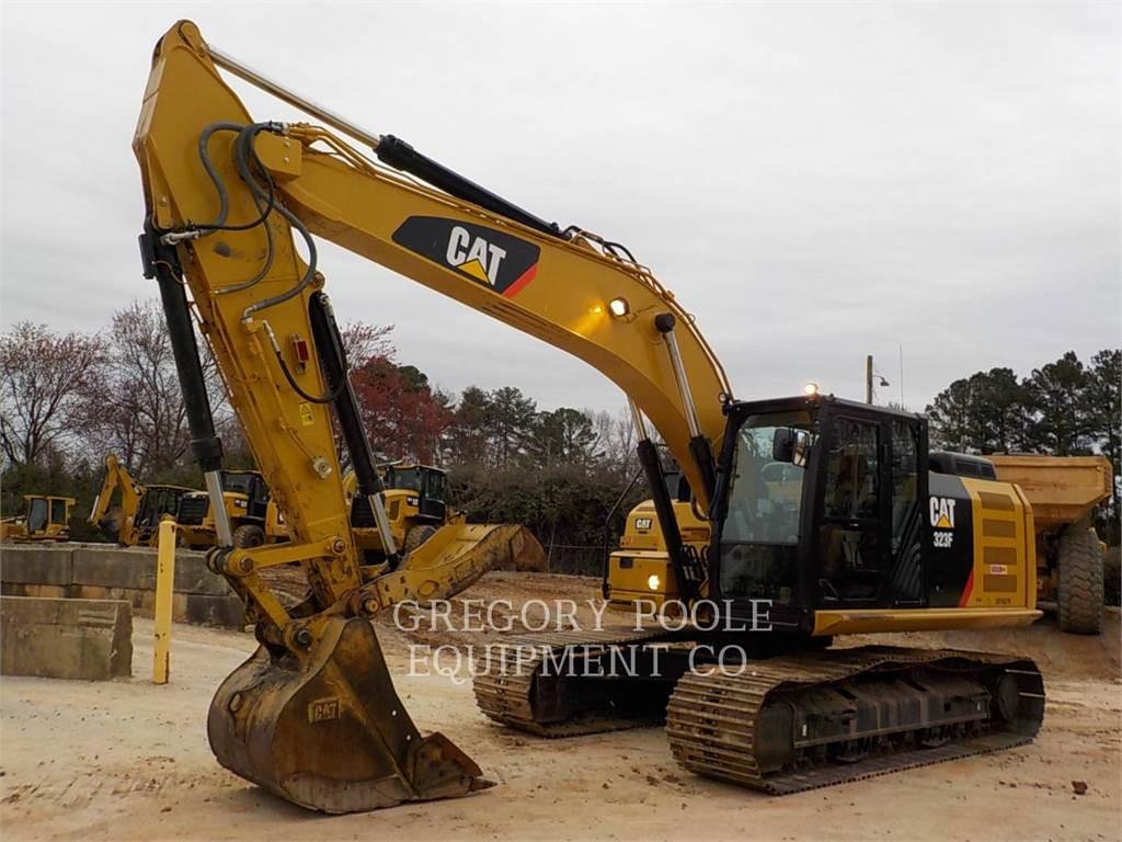 Caterpillar 323F L, Crawler Excavators, Construction