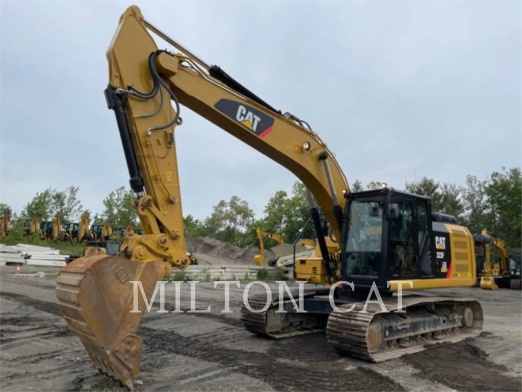 Caterpillar 323F L, Escavadoras de rastos, Equipamentos Construção