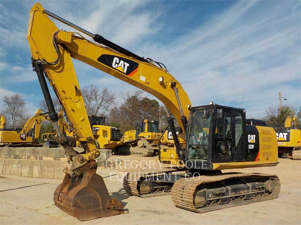 Caterpillar 323F L, Crawler Excavators, Construction