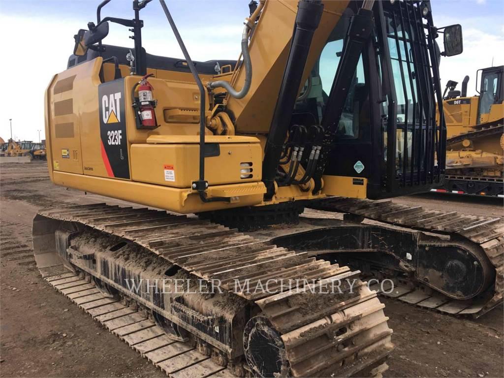 Caterpillar 323F L CF, Excavadoras de cadenas, Construcción