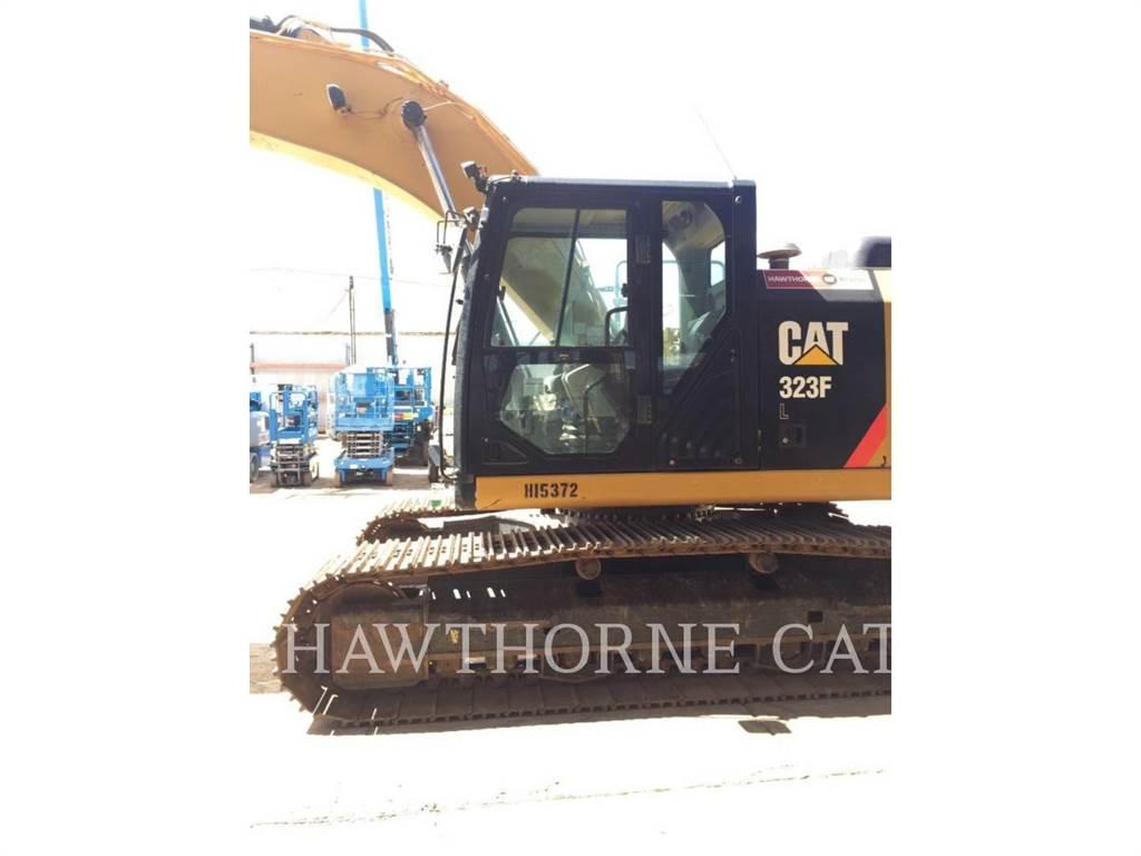 Caterpillar 323F TH, Crawler Excavators, Construction