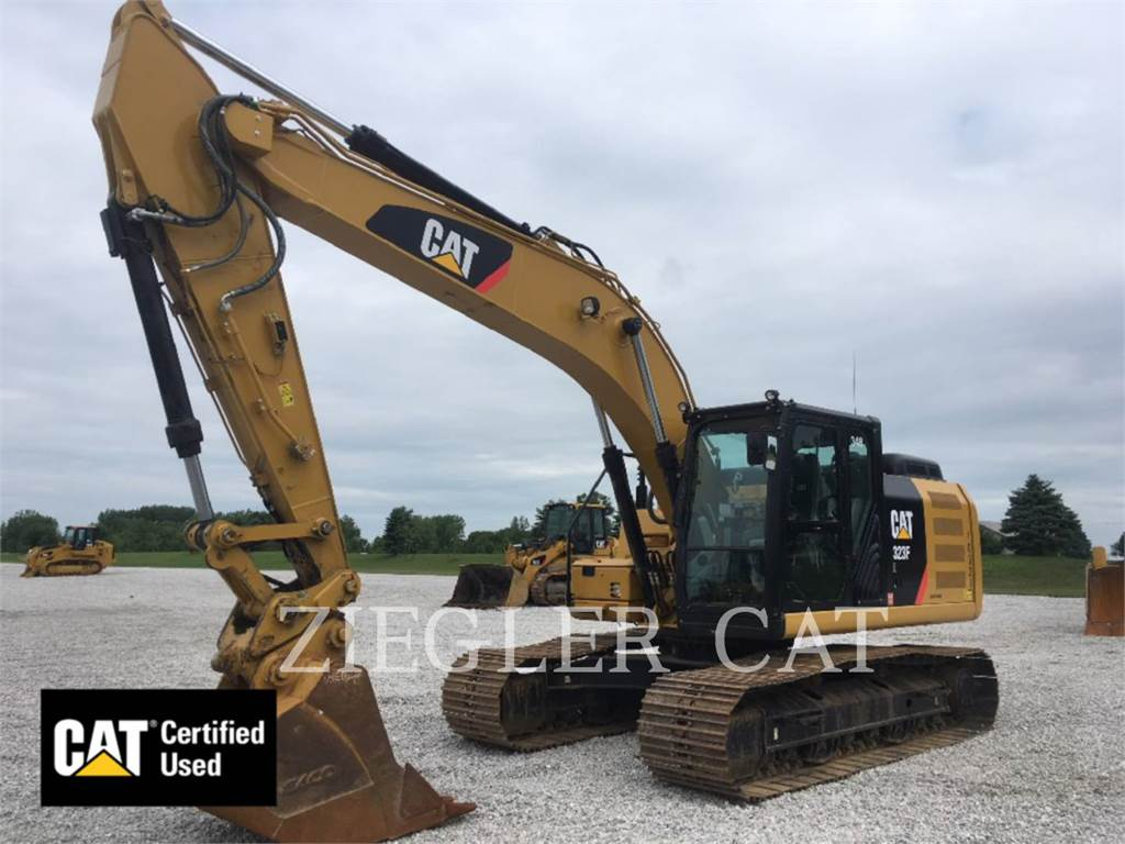 Caterpillar 323FH2I, Raupenbagger, Bau-Und Bergbauausrüstung