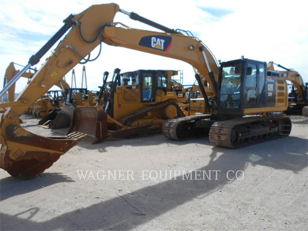 Caterpillar 323FL, Raupenbagger, Bau-Und Bergbauausrüstung