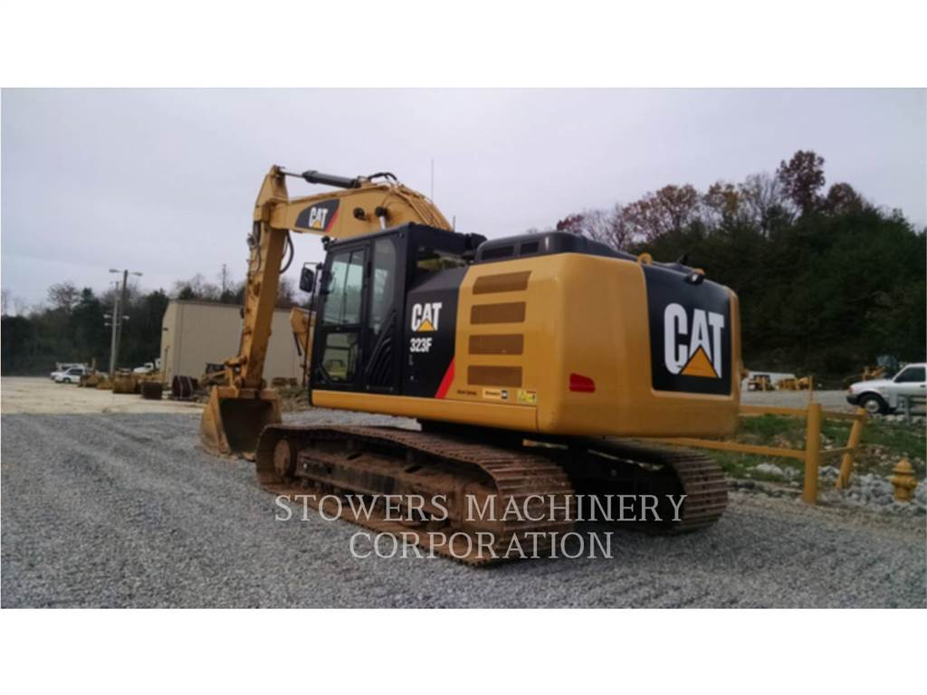 Caterpillar 323FL, Гусеничные экскаваторы, Строительное