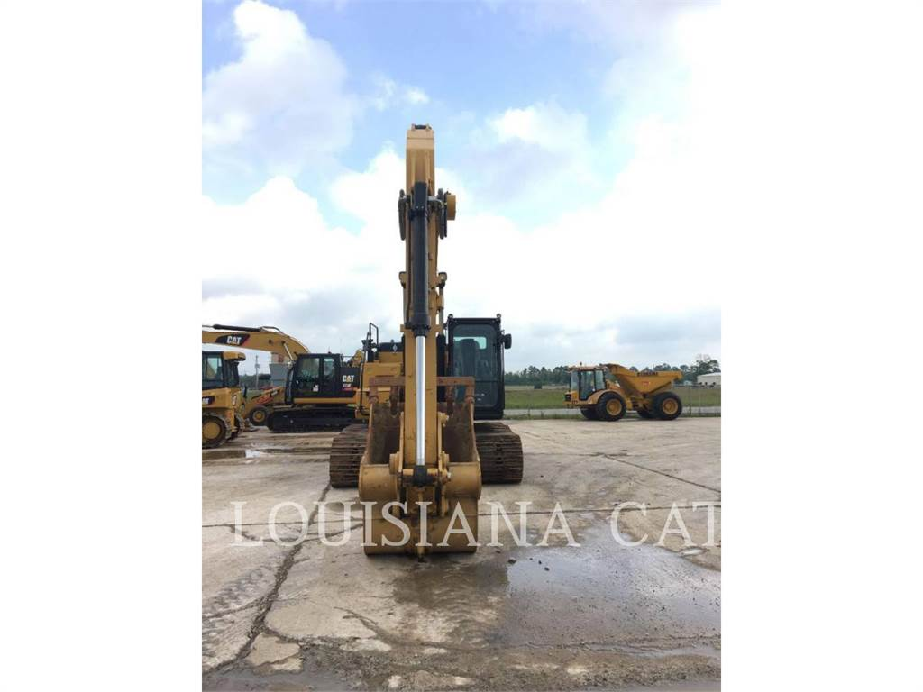 Caterpillar 323FL, Crawler Excavators, Construction
