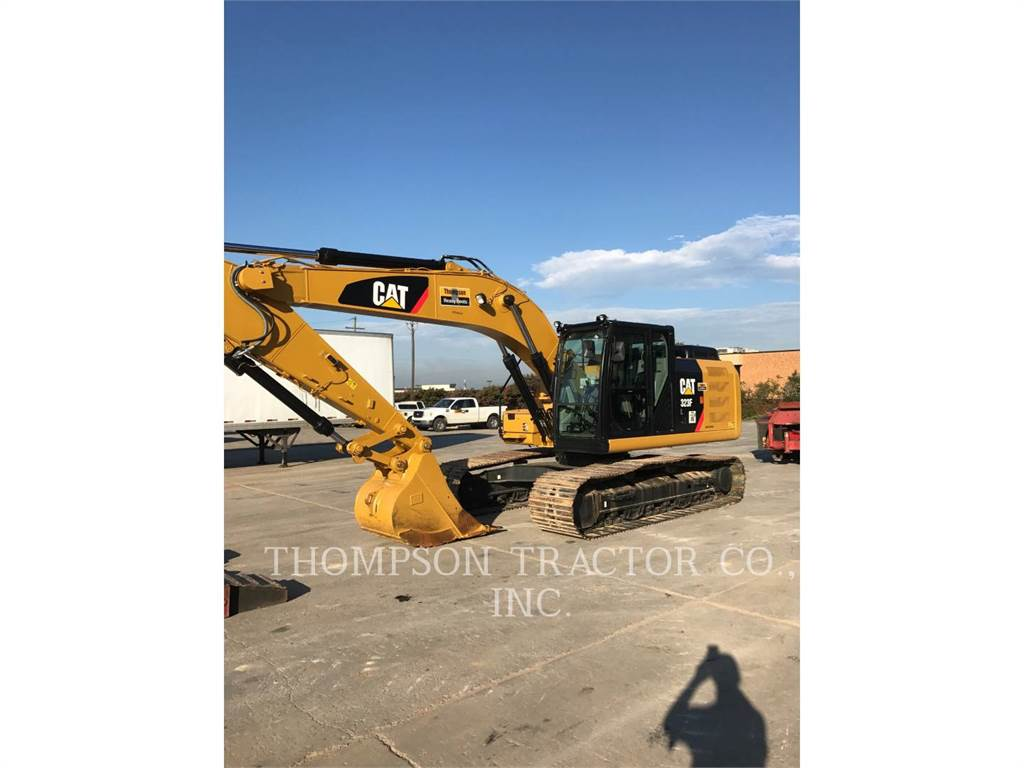 Caterpillar 323FL、履带挖掘机、建筑设备