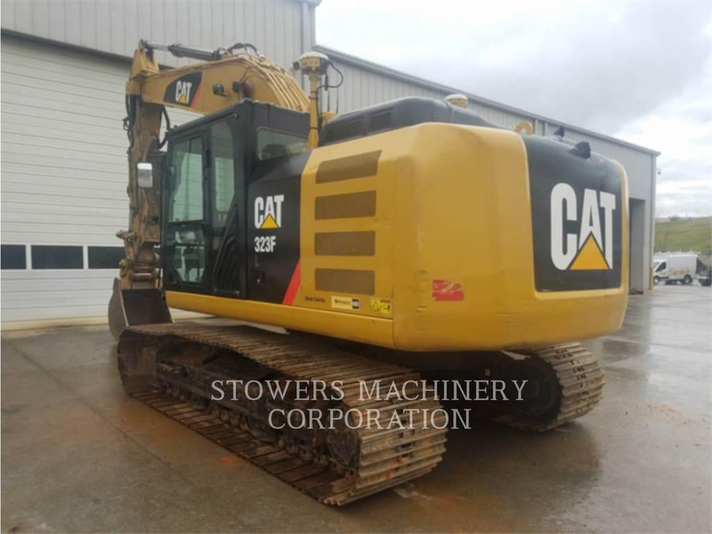 Caterpillar 323FL, Koparki gąsienicowe, Sprzęt budowlany