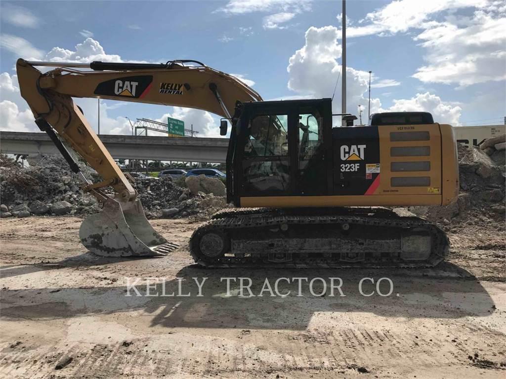 Caterpillar 323FL, Escavatori cingolati, Attrezzature Da Costruzione