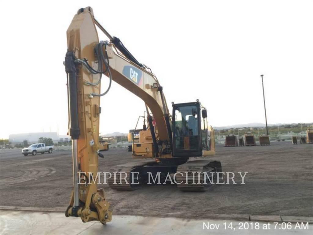Caterpillar 323FL, Crawler Excavators, Construction