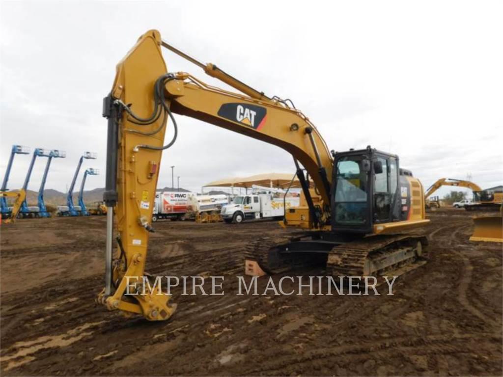 Caterpillar 323FL P, Excavadoras de cadenas, Construcción