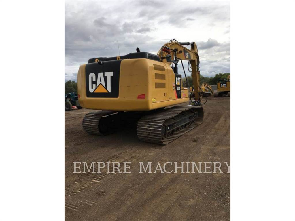 Caterpillar 323FL P, Crawler Excavators, Construction
