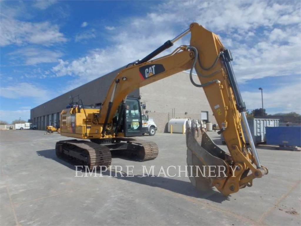 Caterpillar 323FL P, Crawler Excavators, Construction