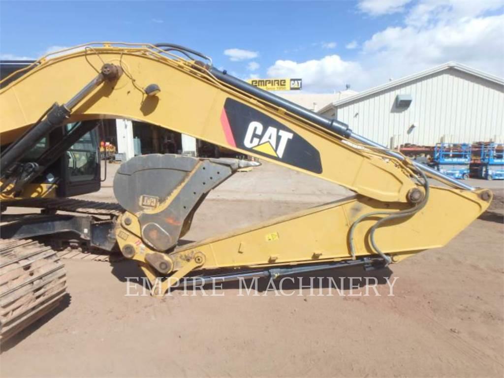 Caterpillar 323FL ST, Excavatoare pe senile, Constructii