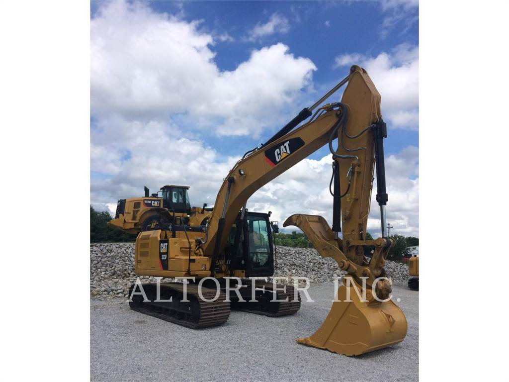 Caterpillar 323FL TH, Raupenbagger, Bau-Und Bergbauausrüstung