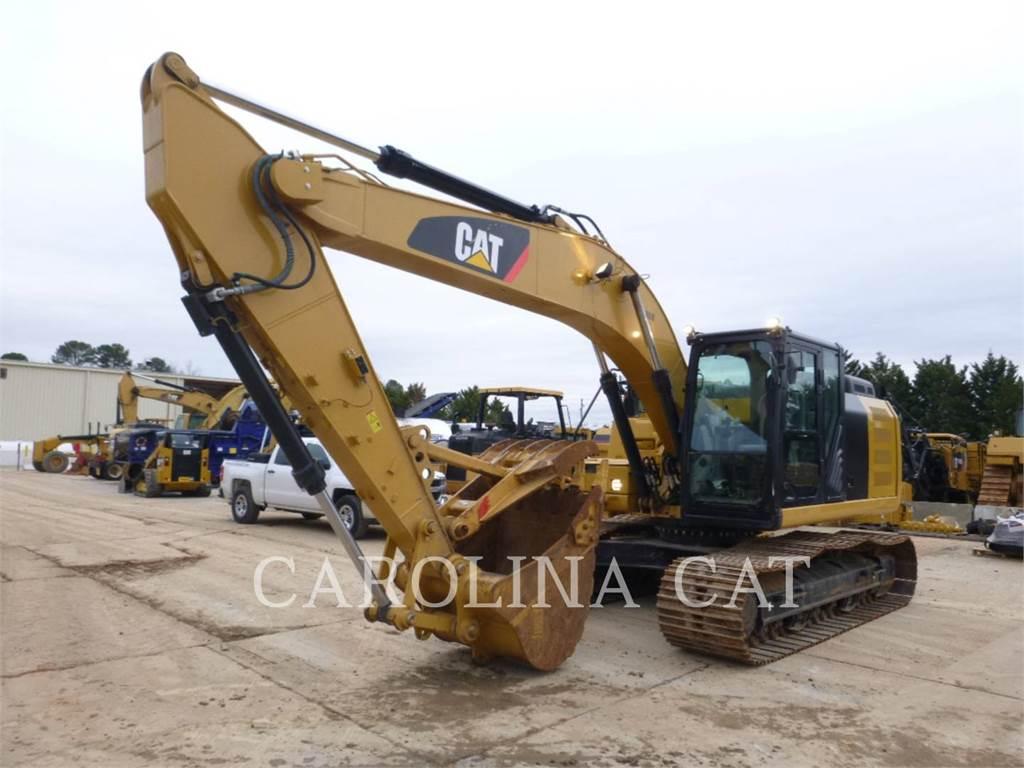 Caterpillar 323FL TH, Pelle sur chenilles, Équipement De Construction