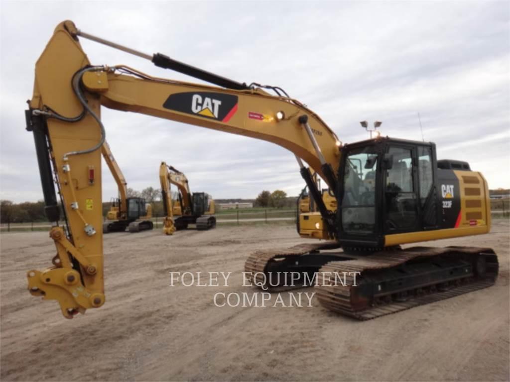 Caterpillar 323FL9, Pelle sur chenilles, Équipement De Construction